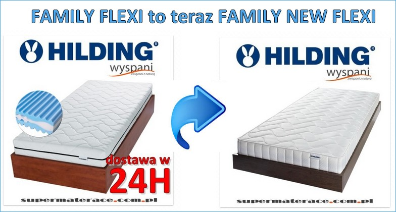 materac family flexi hilding