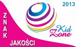 znak jakosci kid zone